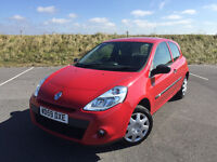 2010 NEW SHAPE RENAULT CLIO 1.2 FULL SERVICE HISTORY LONG MOT WITH NO ADVISORIES GREAT CAR