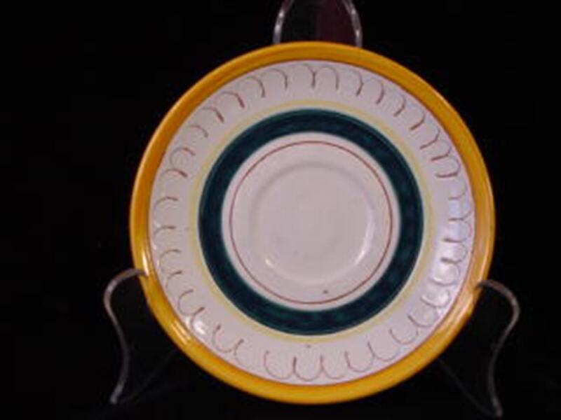 Vintage Stangl Pottery Saucer  Terra Rose Fruit Pattern