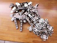 Kitchen Unit Door Hinges - Springback 1 x LOT ( 8 pairs)