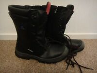 About Blu steel toe cap safety work boots with laces and zips NEW size UK 9.5 / 10 or 44