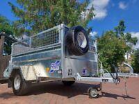 IFOR WILLIAMS TRAILER Q6e LIVESTOCK SHEEP SMALL HOLDING BOX CAR IVOR MARKET P6