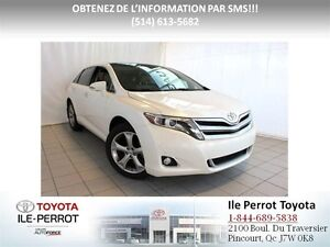 2016 Toyota Venza V6 LIMITED AWD, CUIR, TOIT PANO, COMME NEUF!