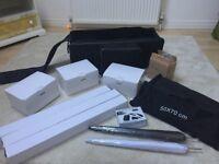 Professional Studio Lighting Equipment, Full Kit like new!!! 3x300w lights, soft boxes, & more!