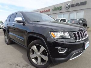 2016 Jeep Grand Cherokee Limited-Sunroof, Bluetooth-High River A