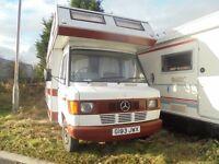 Mercedes Motor home Comanche