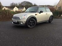 LATE 2010 MINI ONE DIESEL FULL MOT AND SERVICE HISTORY