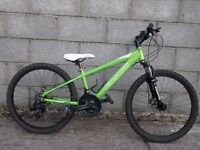 bike carrera 24'' aluminium frame
