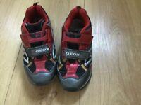Gym shoes, GEOX size UK 1.5 (kids)