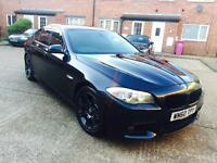 BMW 520D M SPORT AUTOMATIC F10 - TIMING CHAIN DONE AT BMW - PRO SATNAV - HPI CLEAR - 525D 530D