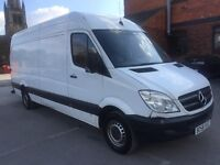 Mercedes sprinter van 2008 58 311 cdi lwb 4 meter service history mot drives great no vat