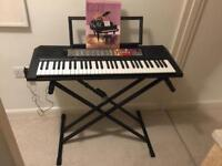 Yamaha PSR F50 electric keyboard