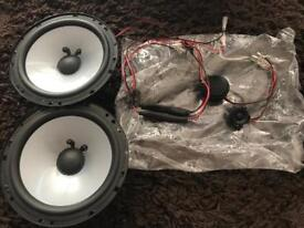 Reduced JL component 6.5 inch speakers