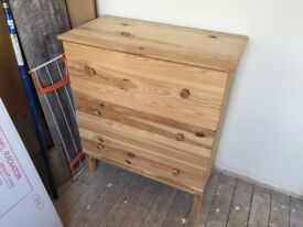 IKEA TARVA Pine Chest of 3 drawers 79 wide x 92 cm high