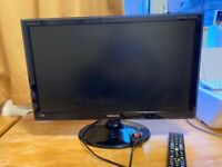 Samsung HD TV/Monitor Sync master T23B551 LED 22inch widescreen with remore control