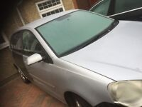 07 VW POLO 1.2 PETROL THIS CARS FOR PARTS ALL PARTS AVAILABLE