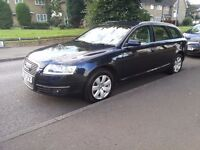 AUDI A6 2.7 TDI ESTATE XENON FULL VERSION AND HISTORY 2 OWNER