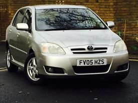 2005 TOYOTA COROLLA 1.4 Vvti*COLOUR COLLECTION*5 DOOR*8 SERVICE INVOICES*NEW TIMING CHAIN*WARRANTY*