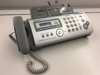 Panasonic Sliver KX-FP215E - Fax with Digital Answering System
