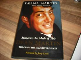 DEAN MARTIN BOOK AND KEN DODD BIOGRAPHY