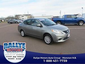 2012 Nissan Versa SV! EXT Warranty! ONLY 45K! Trade In! Save!