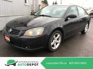 2006 Nissan Altima SE / LOW KM'S / NO ACCIDENTS!