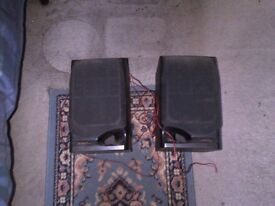2 Black Sony SS-H70 Speakers for sale