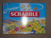 Junior Scrabble by Mattel - Age 5 to 11
