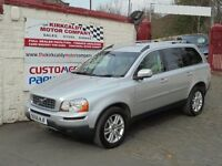 VOLVO XC90 2.4 D5 SE Geartronic AWD 5dr Auto (silver) 2007