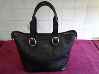 Burberry Classic Grain Black Handbag-In Excellent Beautiful Condition-Proceeds To Local Group Funds