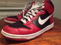 Nike ID Air Dunk Red/Black/White 8.5 UK