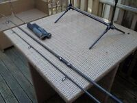 carp rod shimano alivio 3lb test curve