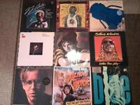 Collection of Vinyl albums, Singles, Doubles and box set included.