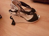 River Island wedges size UK6 for sale
