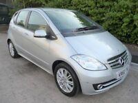2011 Mercedes-Benz A Class 1.5 A160 Elegance SE CVT 5dr LOW MILEAGE AUTO AUTOMATIC Finance Availble