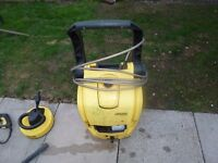 Karcher pressure washer great buy with long extension hose and patio attachment model kB4040