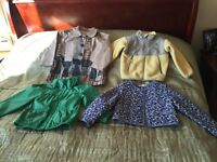 Girls age 3-4 bundle of coats and fleece