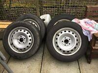 Vivaro wheels