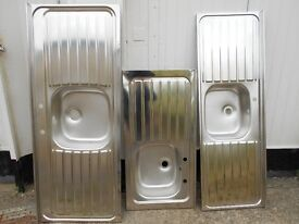 Kitchen sinks (priced individually)