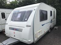 Adria adiva 2005 4 berth with a full awning touring caravan