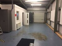 Storage/distribution/office unit 1000 sq feet