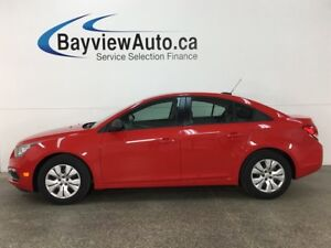 2016 Chevrolet Cruze - 1.8L! A/C! BLUETOOTH! ON STAR! PWR GROUP!