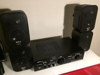 Denon DN-A 100 Professional Integrated Amplifier & 4no JBL CONTROL 1 Speakers