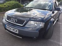 AUDI ALLROAD 2.5 TDI QUATTRO 5DR ESTATE 1year MOT FULL SERVICE LEATHER £1495