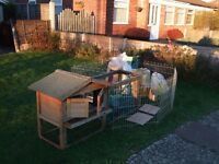 Rabbit hutch and loads of extras