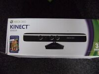 Xbox 360 Kinect Sensor with all wires and 6 Kinect Games