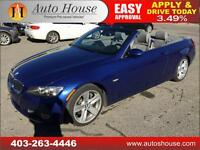 2008 BMW 335i LOW KMS CONVERTIBLE COUPE TWINTURBO $235/BW