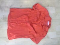 blouse label size 12 never worn