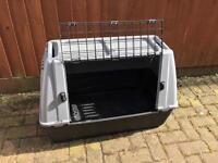 Medium animal carrier or I used as rabbit hutch