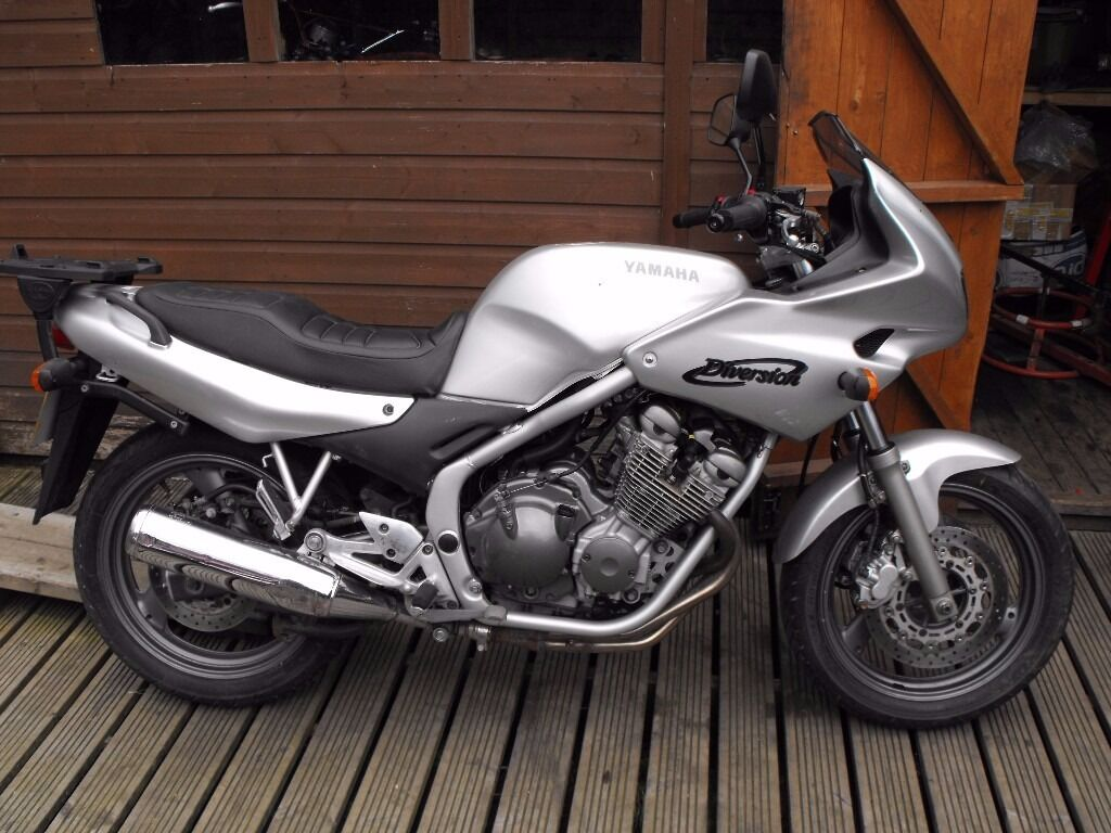 2003 yamaha xj 600 diversion low miles px project in. Black Bedroom Furniture Sets. Home Design Ideas