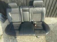 Mondeo mk3 half leather rear seat